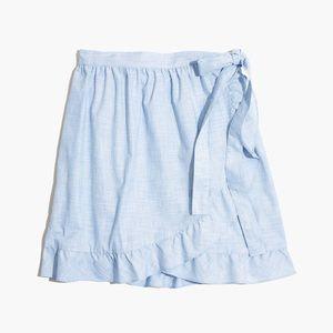 Madewell Meadow wrap skirt 00